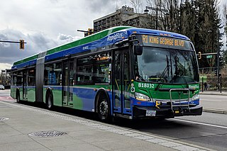 R1 King George Blvd Express bus service in Metro Vancouver, Canada