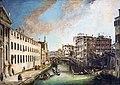Ca' Rezzonico - Il rio dei Mendicanti - Canaletto.jpg
