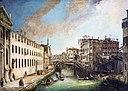 Ca 'Rezzonico - Il rio dei Mendicanti - Canaletto.jpg