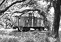 Caboose, Lavaca County, Texas 1406281355bw - Flickr - Patrick Feller.jpg