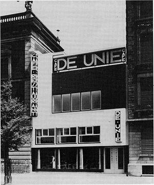 Jacobus Oud - Café de Unie, Rotterdam (1925)