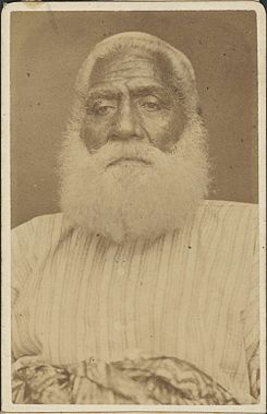 Cakobau, died February 1883, photograph by Francis H. Dufty.jpg