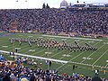 Cal Band performing at halftime at UCLA at Cal 10-16-04 3.JPG