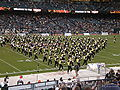 Cal Band performing pregame at 2008 Emerald Bowl 05.JPG