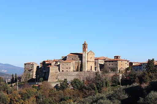 Centro storico di Caldana, GavorranoPanorama1