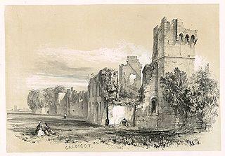 Caldicot. Castle
