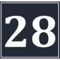 Calendar Icon 28 BW.png