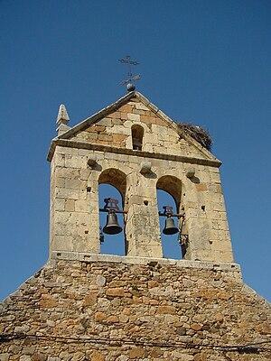 Campanario de ermita de San Benito Abad en Gargantilla del Lozoya