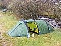 Camping beside the Colwyn - geograph.org.uk - 1382511.jpg