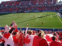 Canadian supporters, FIFA U20 World Cup 2007.jpg
