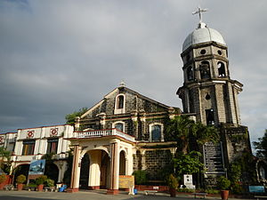 San Andres Apostol Church (Candaba) - Facade of the Saint Andrew, the Apostle Parish Church in Candaba, Pampanga