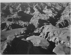 "Canyon and ravine, ""Grand Canyon National Park,"" Arizona, 1933 - 1942 - NARA - 519894.tif"