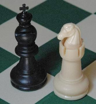 Chess variant - Models for the fairy chess pieces used in Capablanca chess