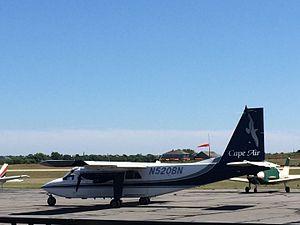 Cape Air - Cape Air Britten-Norman Islander, Block Island State Airport, RI