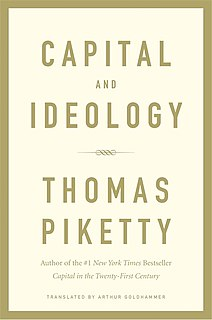 <i>Capital and Ideology</i> 2019 book by Thomas Piketty