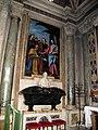 Cappella usimbardi, l'empoli, consegna delle chiavi, 1607, 01.JPG