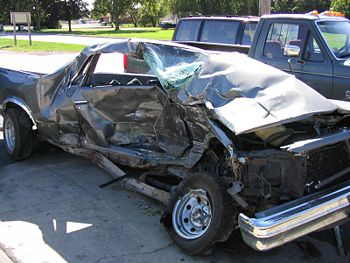 Result of a serious automobile accident