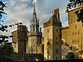 Cardiff Castle from the Animal Wall.jpg
