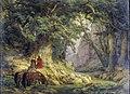 Carl Friedrich Lessing - Die tausendjährige Eiche (1837).jpg