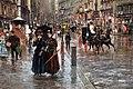 Carlo brancaccio, napoli via toledo, impressione di pioggia, 1888-89 ca. 02.JPG
