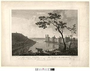le chateau de Carnarvon