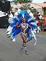Carnaval à Kourou Danseuse en bleu.jpg