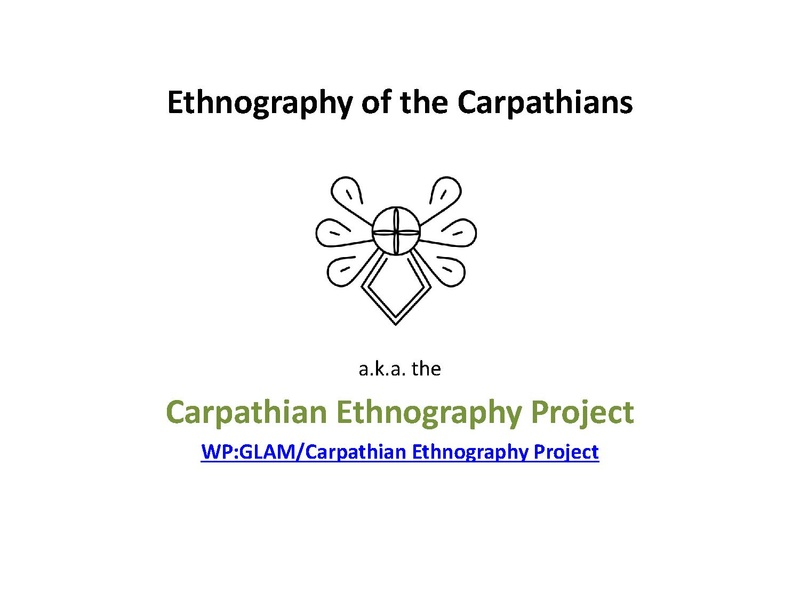 File:Carpathian Ethnography - introduction.pdf