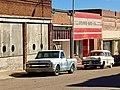 Cars on old street, Lowell, Arizona.jpg