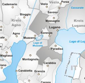 Lago di Muzzano - Image: Carta lago muzzano