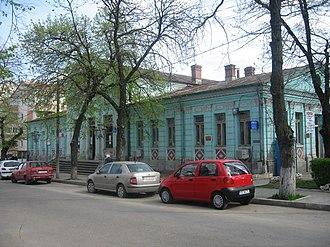 Fălciu County - The building of Fălciu County Court of the interwar period.