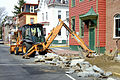 Case backhoe loader, High Street, Mt Holly, New Jersey.jpg