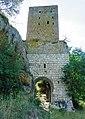 Castel d'Asso (VT) - Torretta di guardia e porta d'ingresso. - panoramio.jpg
