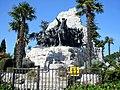 Castelfidardo Monumento in bronzo Battaglia 1860.jpg