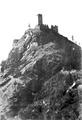Castello di graines, da nord prima della caduta, foto brocherel, fig 35, nigra.tiff