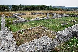 Roman fort in Dacia