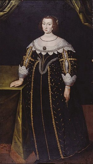 Catherine of Sweden, Countess Palatine of Kleeburg - Catherine of Sweden as painted by Jacob Heinrich Elbfas