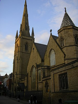 Cathedral Church of St Marie, Sheffield - Image: Cathedral Church of St Marie