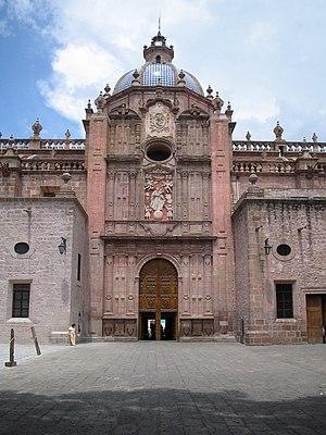 Morelia Cathedral - Main facade
