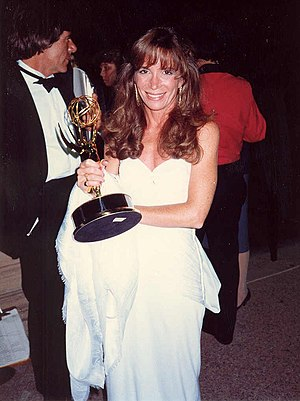 Cathy (TV special) - Cathy Guisewite with her Emmy Award.