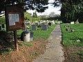 Cemetery in West Lane - geograph.org.uk - 1191943.jpg