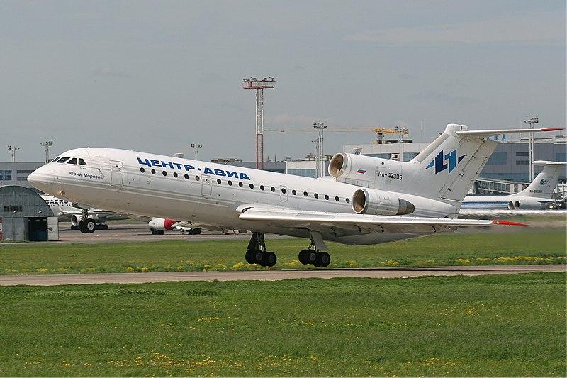 File:Centre-Avia Yakovlev Yak-42 42385 Misko.jpg