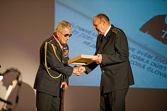 Post Bellum - Memory of Nations Award ceremony in 2011.