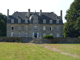 The 18th century château of Limoëlan, in Sévignac