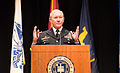 Chairman of the Joint Chiefs of Staff U.S. Army Gen. Martin E. Dempsey speaks at Theodore Hesburgh Library at the University of Notre Dame in South Bend, Ind., Sept 140906-D-KC128-196.jpg