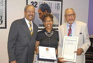 Bob Perkins (radio) - From right to left: Bob Perkins, his wife Sheila, and Congressman Chaka Fattah.