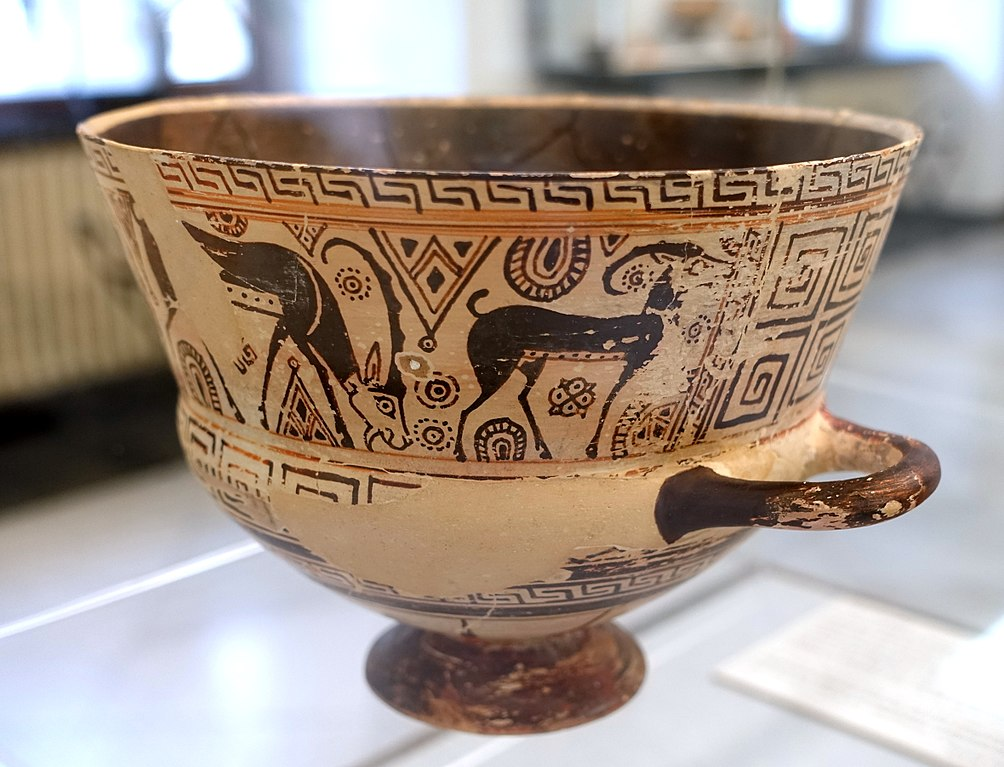 Filechalice 2 Of 2 View 2 Chios Style Of East Greek Vase