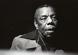 Champion Jack Dupree - Dupree performing at the Dennis Swing Club, Hamburg