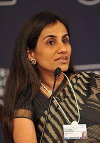 Chanda Kochhar at the India Economic Summit 2009 cropped.jpg