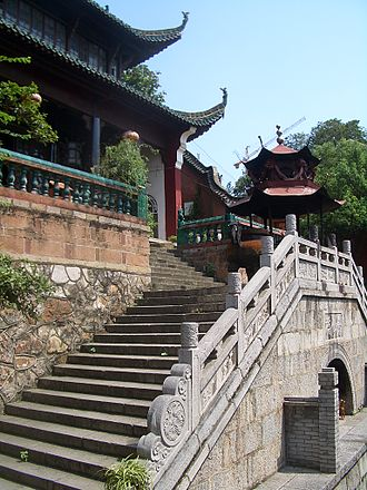Wuchang District - Image: Changchun Temple San Huang Dian 0338