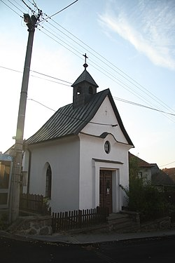 Chapel of Saint Peter in Petráveč, Žďár nad Sázavou District.JPG